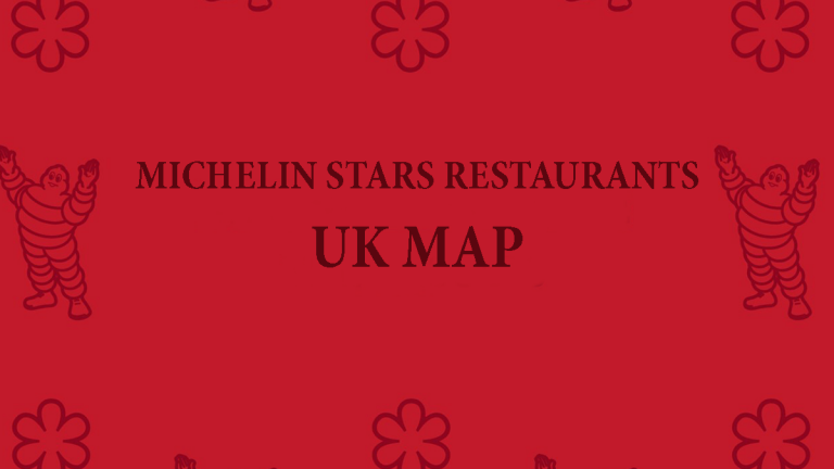 Michelin Stars Restaurant UK Map