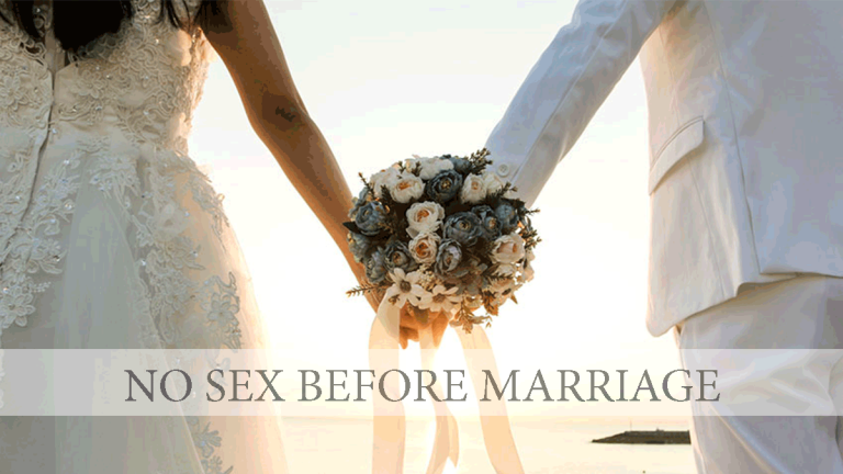 No Sex Before Marriage