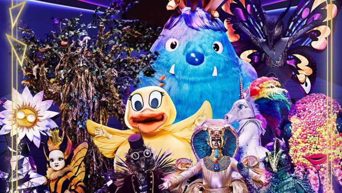 who is the monster on masked singer